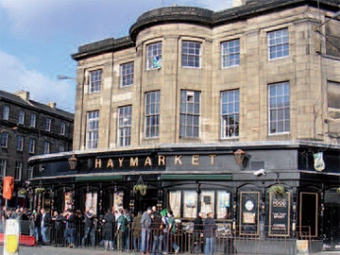 The Haymarket Bar, Edinburgh